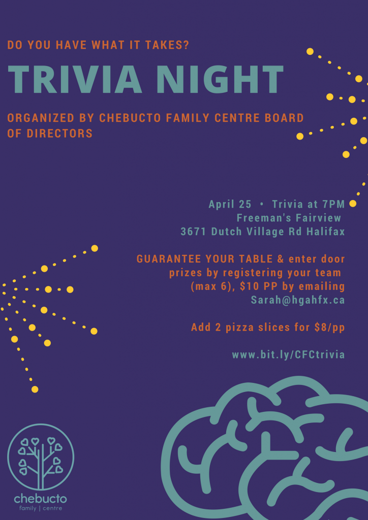 CFC Trivia Night poster